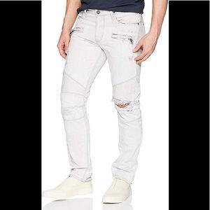 Hudson Jeans Blinder Skinny Biker Distressed